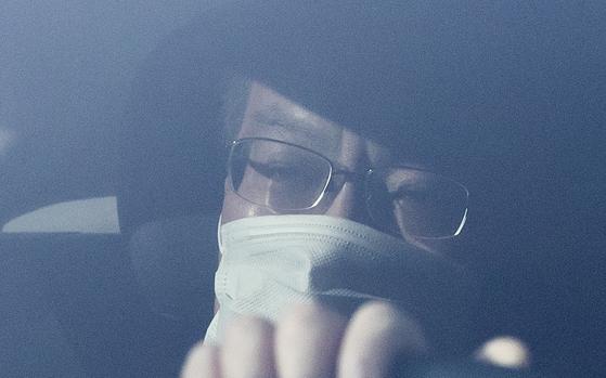 조남관 검찰총장 직무대행이 대검찰청으로 출근하고 있다. 임현동 기자