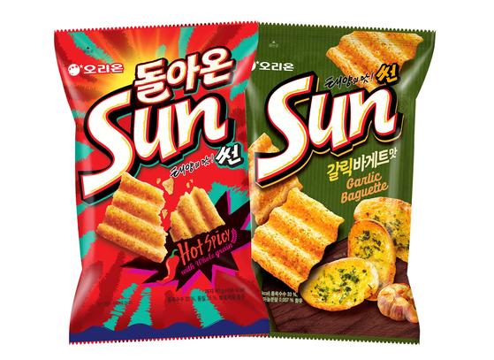 오리온 '태양의 맛 썬'이 재출시 3년만에 누적판매량 1억개를 돌파했다. 사진 오리온
