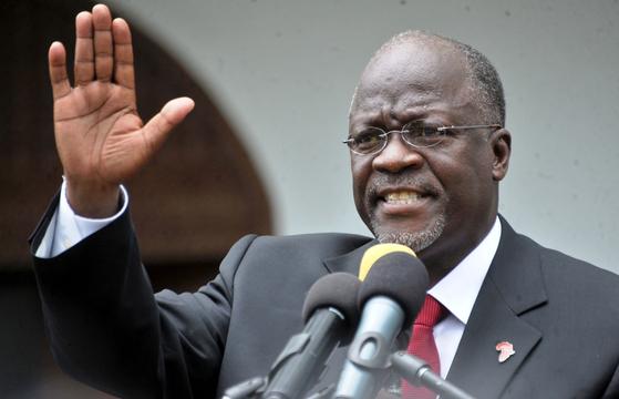 탄자니아의 존 마구폴리 대통령이 사망했다고 17일(현지시간) 외신들이 보도했다. 로이터=연합뉴스