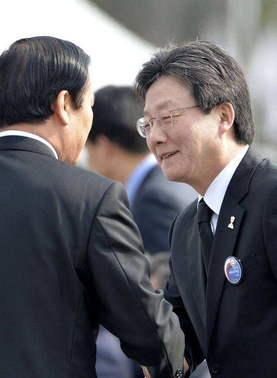 지난 2017년 3월 24일 '제2회 서해수호의 날 기념식'에 참석한 유승민 전 국민의힘 의원. 김성태 기자