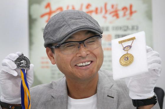 '국민 마라토너' 이봉주 선수. 중앙포토