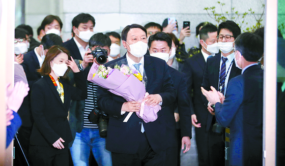3월 4일 윤석열 당시 검찰총장. 뉴스1