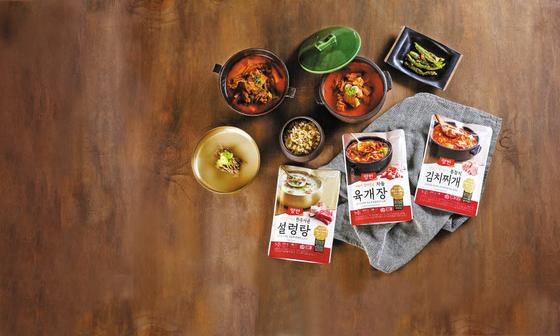 '양반 국탕찌개'는 엄선한 자연 재료를 가마솥 전통방식으로 끓여내 정통 한식의 깊은 맛을 담았다. [사진 동원F&B]