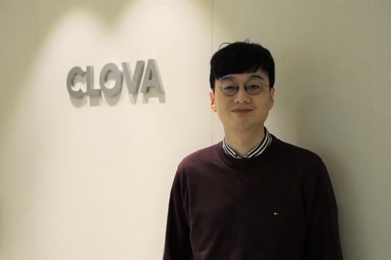 지난 5일 경기 성남시 클로바 사무실에서 만난 정민영 기술 분야 책임리더. 사진 네이버