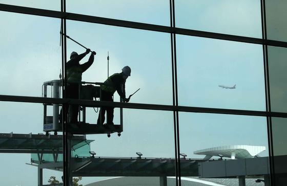 인천 국제 공항 '포스트 코로나-뉴 비전 2030'선포식 29 일