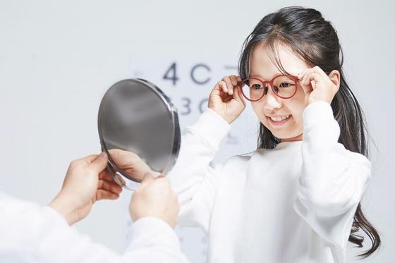 안경 착용법