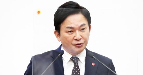 원희룡 제주지사. 사진 제주도의회