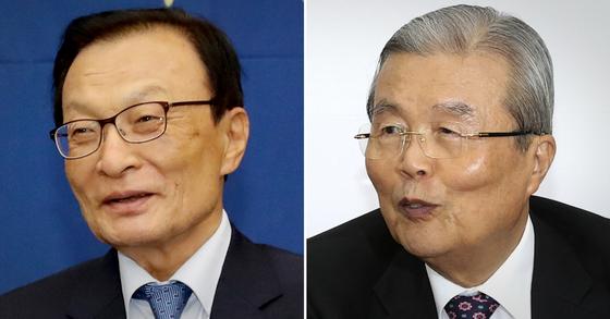이해찬 전 더불어민주당 대표(왼쪽)와 김종인 국민의힘 비상대책위원장. 중앙포토·연합뉴스