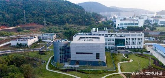 중국 후베이성 우한시에 위치한 우한 바이러스 연구소의 모습. [중국 바이두 캡처]