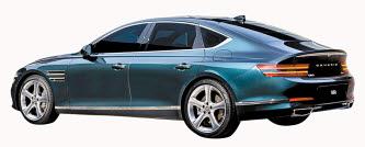 첨단 기능으로 무장, 미래 자동차에 가까이 다가선 제네시스 G80.