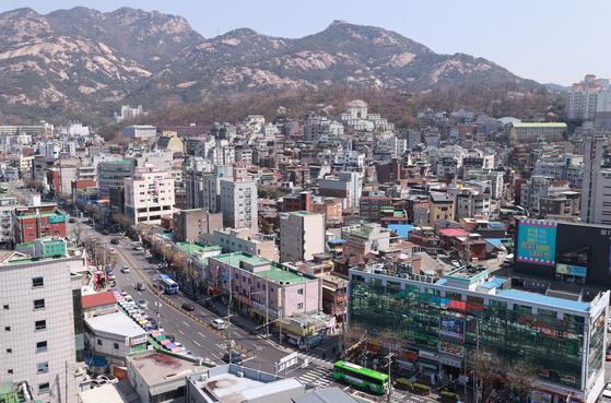연신내 역세권 공공주택 복합개발사업 후보지의 모습. 연합뉴스