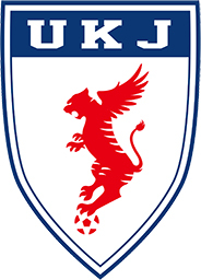 UKJ의 엠블럼. 한반도 모양을 한 붉은색 호랑이는 재일동포의 긍지를 나타낸다. 또한 테두리에는 일본 축구대표팀의 상징색인 블루를 집어넣었다. 팀 엠블럼에도 남, 북한과 일본을 모두 담은 것이다. 코니파 홈페이지