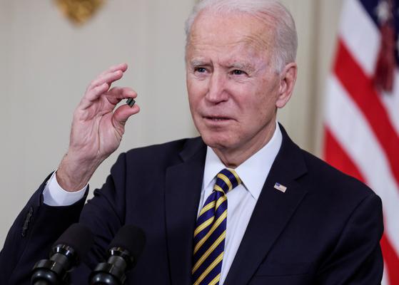 조 바이든 미국 대통령은 취임 후 성소수자의 권리 신장을 최우선 과제로 삼겠다고 공약해 왔다. 이에 따라 미 국방부는 3월31일(현지시간) 트랜스젠더의 군복무를 허용하는 정책을 발표했다. [로이터=연합뉴스]