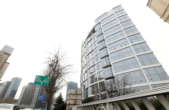 올해 공동주택 공시가격 1위이고 크기가 같은 집의 층간 공시가격 격차가 최대 40억원이 넘는 서울 강남구 청담동 더펜트하우스청담. 뉴시스