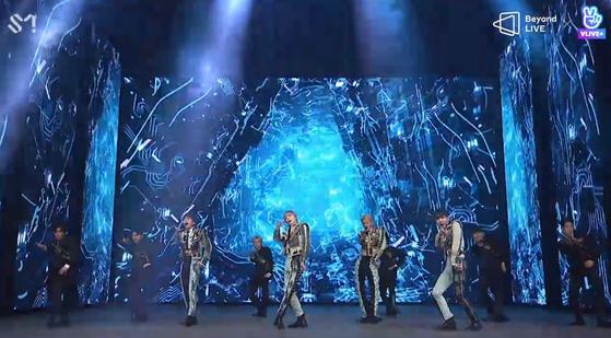 4일, 샤이니 'Beyond LIVE' 온라인 콘서트 현장 / SM엔터테인먼트 제공