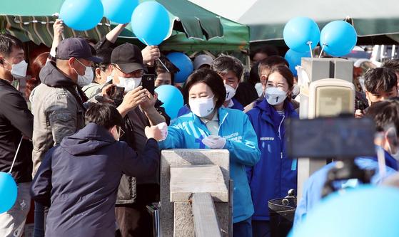 """박영선 """"정부 판사는 아니지만 오세훈의 분노가 커지고있다."""""""