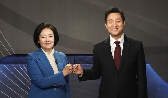 """서울 승리 기준은 무엇입니까? 朴""""서포터 투표 70 %""""吳""""투표율 50 %"""""""