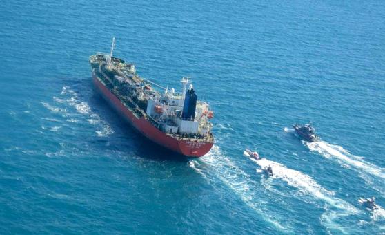 """이란의 얼굴 변화 """"한국 선박 구금에 대한 긍정적 인 접근"""""""
