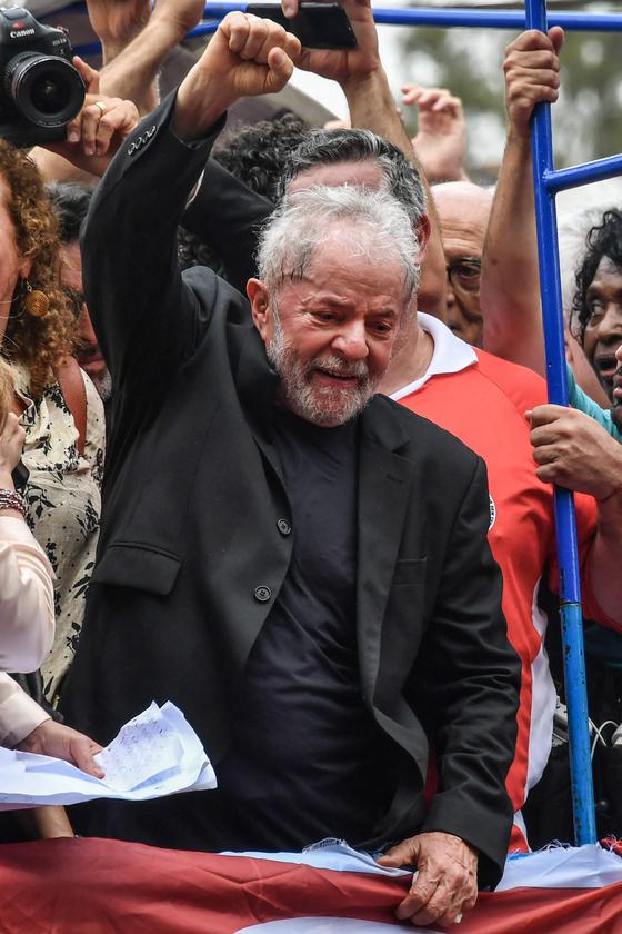 룰라는 재임 기간 큰 사랑을 받았던 대통령이었다. 사진 AFP=연합뉴스