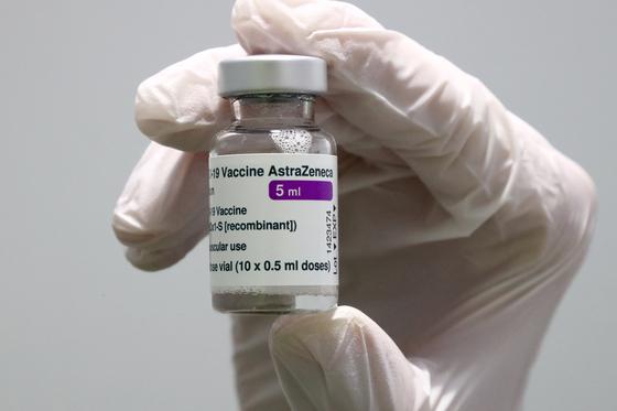 아스트라제네카 코로나19 백신. [AP=연합뉴스]