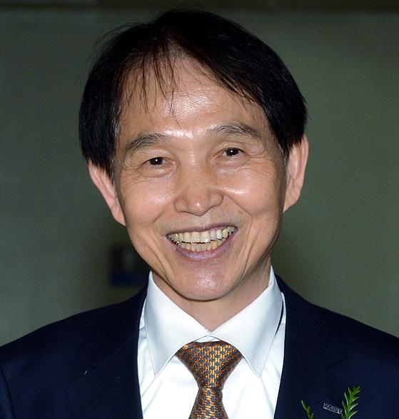 이광형 한국과학기술원(KAIST) 신임 총장이 8일 취임 후 첫 기자간담회를 개최했다. [사진 김성태 프리랜서]