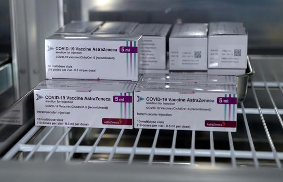 아스트라제네카(AZ) 백신. 프리랜서 김성태