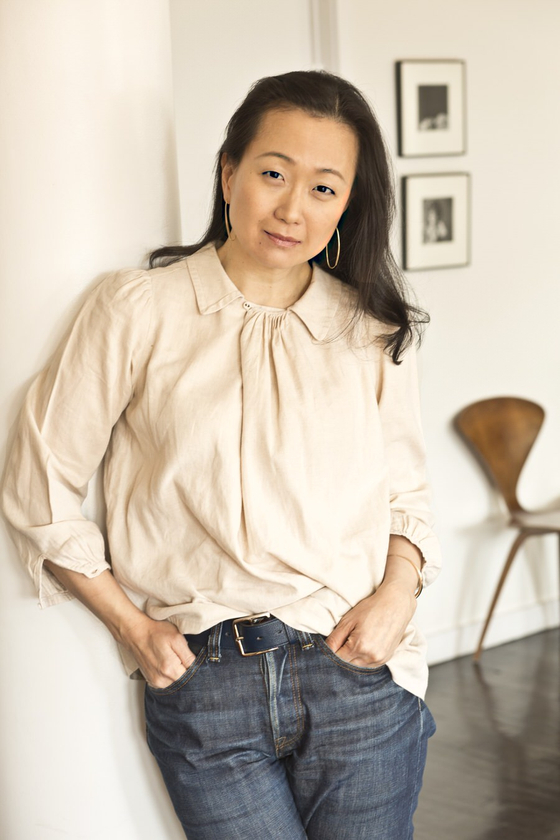 민진 리(Min Jin Lee, 이민진) 한국계 미국인 소설가. [Min Jin Lee 홈페이지]