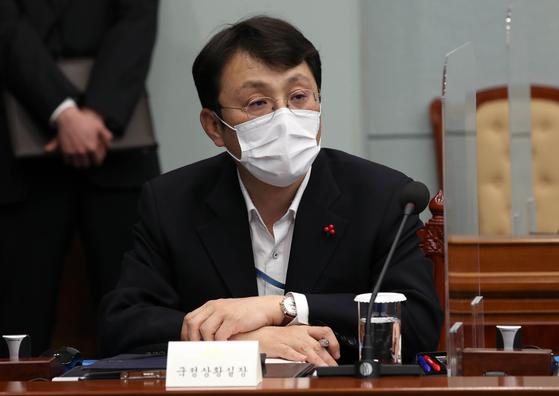 1월 25일 이진석 청와대 국정상황실장. [사진 청와대사진기자단]