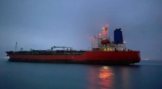 이란 억류 선박. 외교부 제공.