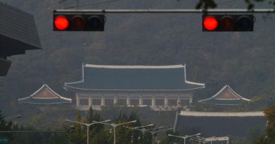 청와대 모습. 중앙포토