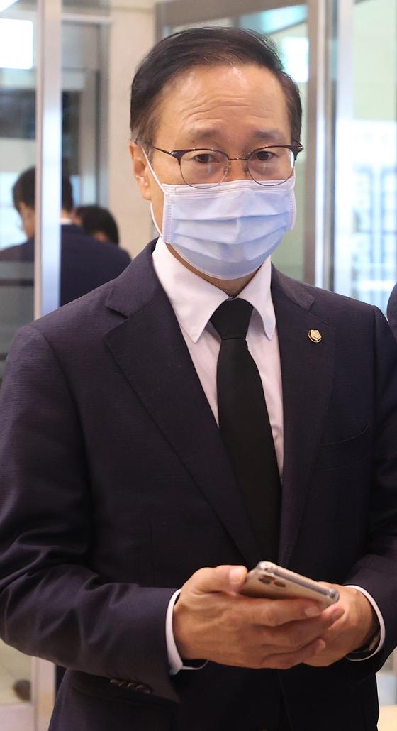 홍영표 더불어민주당 의원. 뉴스1