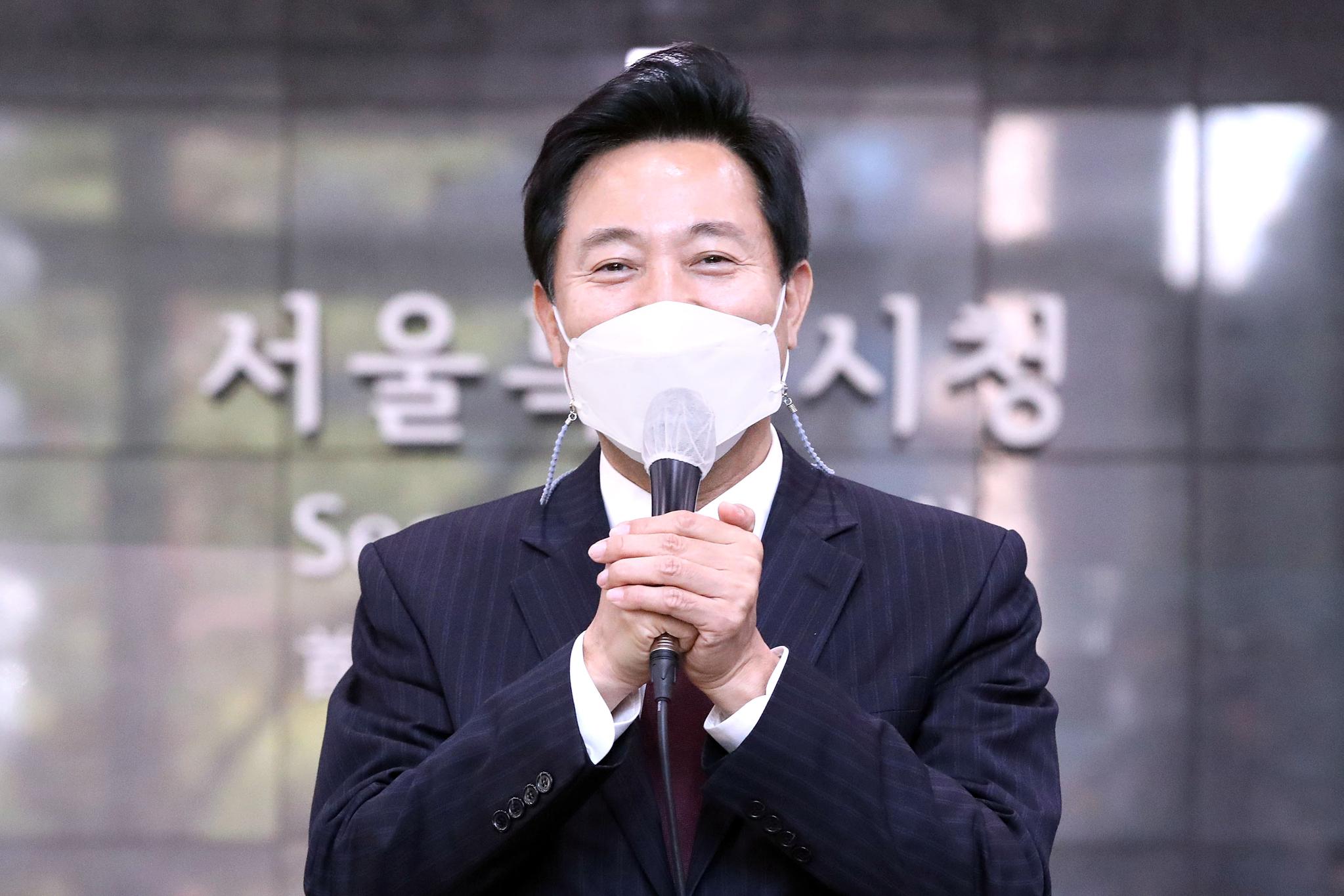 오세훈 서울시장. 중앙포토