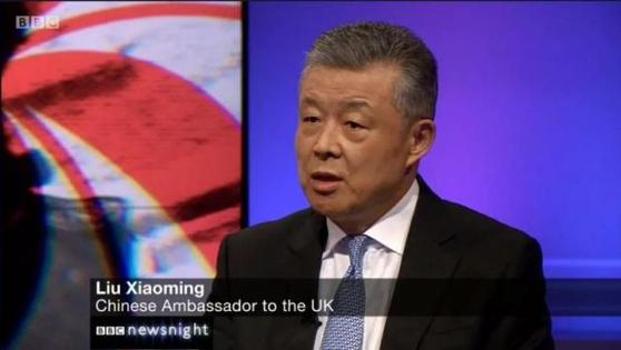류샤오밍 전 주북한 중국대사가 중국 한반도사무특별대표 자리에 임명됐다. [중국 환구망 캡처]