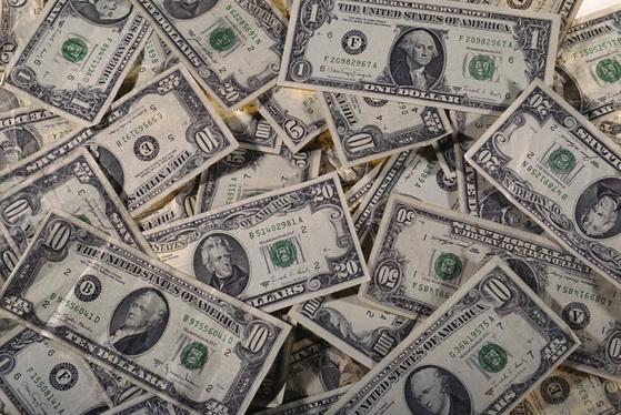 미국 달러. 중앙포토
