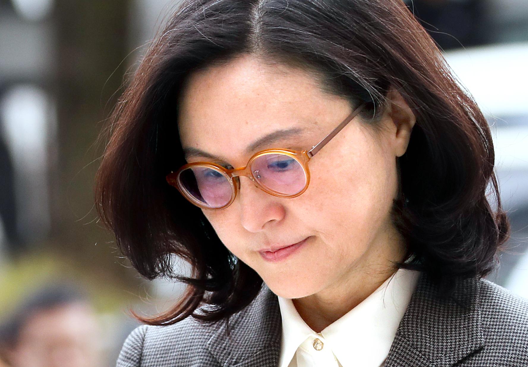 조국 전 법무부 장관의 부인 정경심 동양대학교 교수. 뉴시스