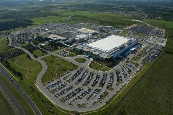미국 오스틴 삼성 반도체 공장. [사진 삼성전자]