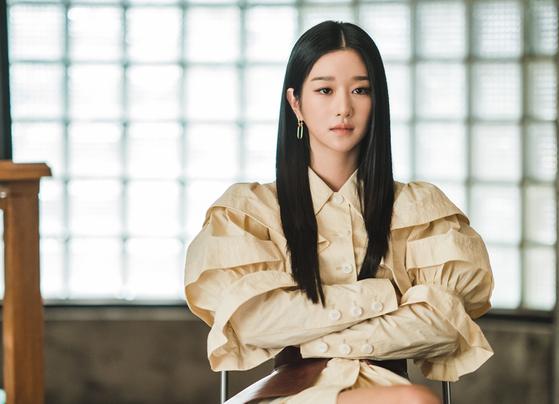 tvN 드라나 '사이코지만 괜찮아'에 출연한 서예지. 사진 tvN
