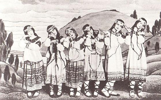 1913년 '봄의 제전' 초연. [사진 Wikimedia Commons]