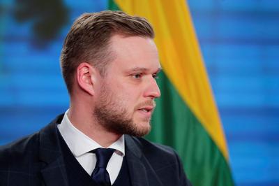리투아니아 외무장관 [AFP=연합뉴스]