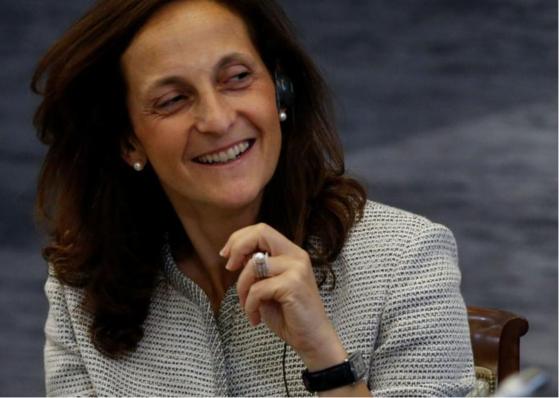 로이터통신의 새 편집국장으로 임명된 알레산드라 갈로니. 여성 편집국장은 170년 로이터통신 역사상 처음이다. 로이터=연합뉴스