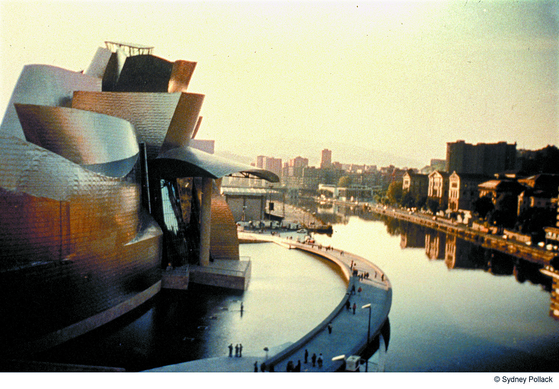 프랭크 게리가 건축한 스페인 빌바오 구겐하임 미술관.