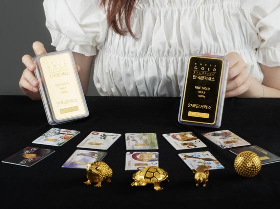 한국금거래소에 따르면, 금값이 쌀때 사두려는 사람들이 몰리면서 을 들어 석달여간 1만780kg이 팔렸다. 지난해 전체 판매량(2만2000kg)의 절반을 차지한다. 한국금거래소.