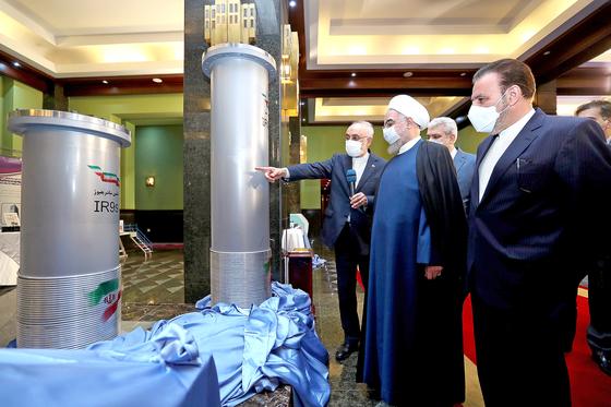 """이란 """"60% 농도 우라늄 농축"""" 선언"""