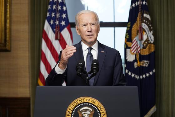 조 바이든 미국 대통령. [AP=연합뉴스]