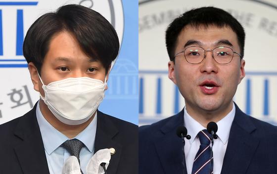 전용기(왼쪽), 김남국 더불어민주당 의원. 연합뉴스
