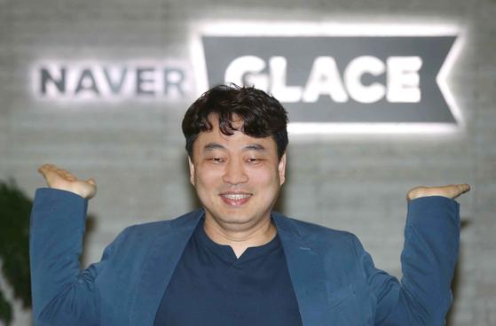 네이버 글레이스 이건수 대표가 6일 경기도 성남시 분당구 회사에서 중앙일보와 인터뷰를 갖고 있다. 2021.04.06 김상선