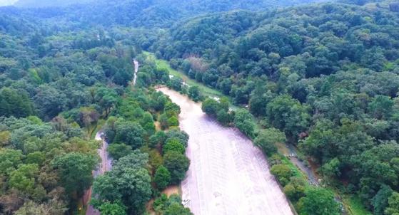 광릉숲길 전경. 국립수목원