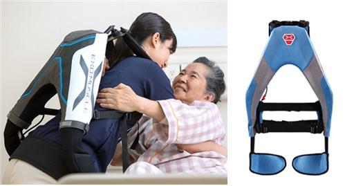 일본 스타트업 이노피스가 개발한 인공 근육 '머슬 슈트 에브리'.[사진 이노피스 홈페이지]