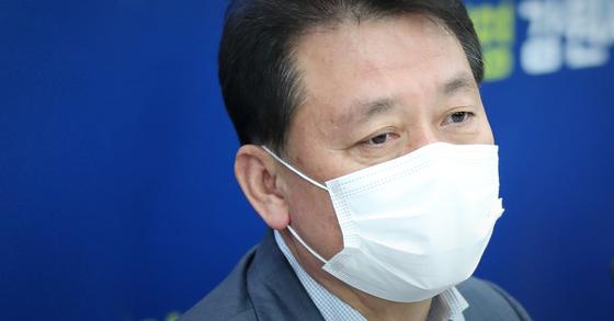 이광재 더불어민주당 의원. 연합뉴스