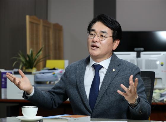 박용진 더불어민주당 의원. 신인섭 기자